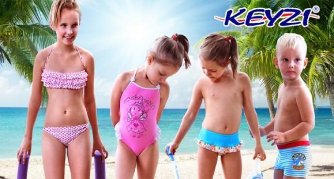 Детские купальники Keyzi